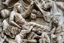 Details of the Duomo di Orvieto