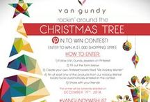 Rockin' Around The Christmas Tree / Enter our Pin To Win contest by visiting https://www.facebook.com/pages/Van-Gundy/184913870542?sk=app_199909830142802 for a chance to win a $1,000 Van Gundy gift card!