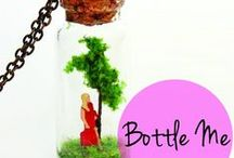 Bottle Me by Marzrian / Marzrian Bottle Me Collection now available on Etsy  http://www.etsy.com/shop/marzrian