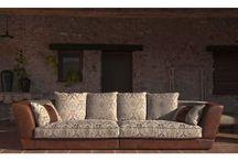 Luxusné sedačky / Luxury sofas / Sedačky z najkvalitnejších materiálov, viac ako 200 vzoriek kvalitnych hrubych textílií a koží.