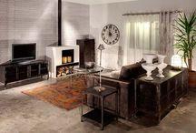Priemysleny štyl / Industry style / Industriálny nábytok a bytové doplnky