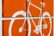 "Art... ""by bike""! / every think we love ..."