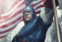 Captain America / by Javier Perez