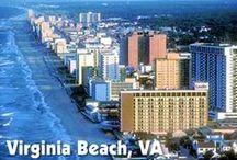 Virginia Beach- Tidewater-Hampton Roads / by Paul Davis