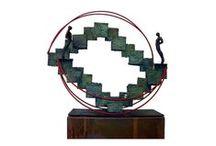 Esculturas / JAVIER STITCHKIN,  escultor chileno.