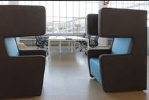 Informeel overleg en lounge / Informeel overleggen en loungen met onze stijlvolle producten van o.a. Gispen, Roels Collection, Allermuir, Cascando Products en Pedrali