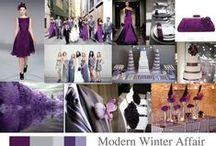 Lavander and Violet Wedding