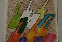 ARTE QUE PRODUZ ARTE / Grafites e ilustrações