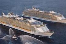 Grandes cruceros del mundo. / Estos son los cruceros más grandes del mundo, alguno de los cuales tenemos la oportunidad de ver en directo. También hay grandes clásicos que marcaron una época.