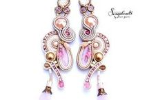 Soutache Jewelry by Sengabeads / soutache jewelry, soutache earrings, soutache tutorial, soutache braid, soutache bracelets