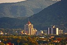 Blacksburg,Roanoke,Covington & Lexington,VA / Southwestern mountain area of Virginia and it's cities and towns / by Paul Davis