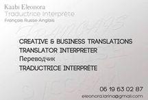 Traduction Interprétariat Russe Français / Larina Translation, service de traduction et d'interprétariat professionnel spécialisé dans la langue russe dédié aux entreprises et particuliers.     Toutes les traductions sont réalisées par des traducteurs interprètes diplômés .