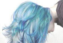 haircolour / Different hair colours and hair cuts