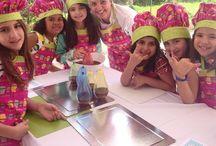 Kids Party / Festa com aula de culinária