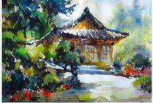Watercolor Paintings 13 / by Margaret Brown