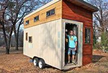 Mini casas (IV) / El estudiante que se construyó su propio 'mini-piso' para no pagar alquiler y poder ir a la universidad.