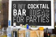 Food Bar Ideas for Parties / This board has ideas for all kinds of food bars you can use for parties. Taco bars, dessert bars, pasta bars, and more.