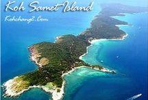 Koh Samet / Die Thailandinsel Koh #Samet (เกาะ เสม็ด in Thai) ist eine kleine Insel, die 1981 als Nationalpark eingestuft wurde. Hier sind einige der schönsten Strände in Thailand. Ideal ist die Nähe zu Bangkok mit Shopping, Nachtleben und Attraktionen. Mehr Infos: http://www.kombiurlaub.eu/thailand