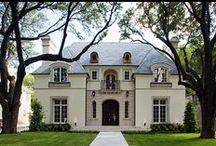 Французкая архитектура / Дома выполненные в Французском или Викторианском стиле. Очень интересные и безумно сложные в построении!