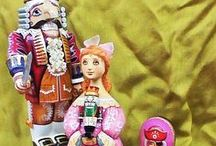 The Nutcracker Suite / The famous Tchaikovsky Ballet and Nutcrackers based on it