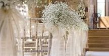 Ceremony Deco / Beautiful flowers, decorations & arches...