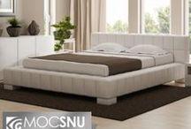 Nasze łóżka / Łóżka kontynentalne i tapicerowane, które możecie znaleźć w naszym sklepie.