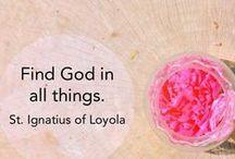 Ignatius av Loyola / Bilder och länkar till information om den heliga Ignatius av Loyola och Jesuitorden.