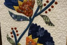 Applique/Quilts-Blocks-refer also to BasketQs / Look at basket quilts & blocks as well. / by Barbara Wilson