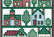 Cross Stitch ~ House Theme / by Elizabeth Reis