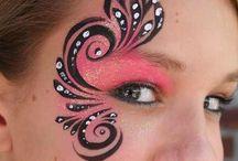 Face paint / Face paint / by Claypotater