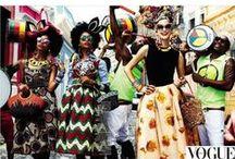 African prints fashion / Le wax est un tissu aux magnifiques couleurs et motifs africains. CéWax, jeune créatrice française de bijoux et d'accessoires de style ethnique le met à l'honneur dans ses créations contemporaines et dans ce tableau. Retrouvez de nombreux articles sur le wax sur le blog: http://cewax.wordpress.com/ , african prints pattern fabrics, kitenge, kanga, pagne, mudcloth, bazin, Style ethnique, tribal, #wax, #ankara, #kente, #bogolan, #Africanprintfashion, #ethnotendance,