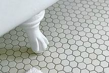 Texture Bathroom Flooring