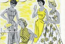 Vintage Sewing Patterns / by Pat Sagrillo