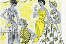 Vintage Sewing Patterns / by Pat Sagrillo