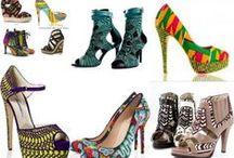Wax : Chaussures / Sélection de chaussure en pagne wax ankara african prints. Retrouvez tous les articles sur le wax sur le blog de CéWax: http://cewax.wordpress.com/ / by CéWax www.cewax.fr