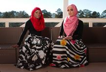 Hijab Fashion / Beautiful Hijab fashion inspiration visit www.jannahgifts.com to create you own Hijab Style