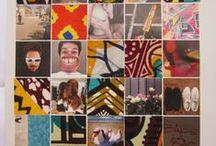 Glue by CéWax / Collages de tissu wax africain sur des pages de magazines. Retrouvez de nombreux articles sur le wax sur le blog: http://cewax.wordpress.com/ african prints pattern fabrics, kitenge, kanga, pagne, mudcloth, bazin, Style ethnique, tribal, #wax, #ankara, #kente, #bogolan, #Africanprintfashion, #ethnotendance,