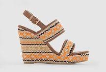 Chaussures ethno tendance