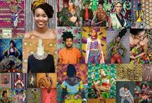 African print Fashion Pictures (fond wax)