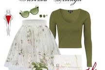 Clothes and style body shape