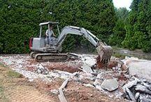 Excavation / Websites about digging! #webdesign