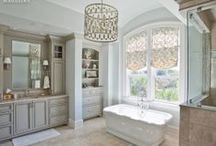 Bathroom Inspiration / Beautiful bathrooms that will inspire your inner designer.