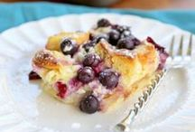 Breakfast Recipes / Sweet and savory breakfast recipes that will start the day off right!
