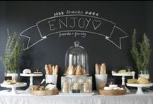 Entertaining the masses / Decor and other ideas for entertaining guests.