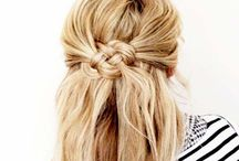 Simple hairstyles / Every day is a special day