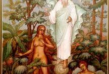 136 миниатюр-иллюстраций к Библии Творческой мастерской «Палешане»