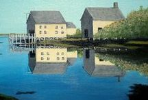 Landscapes / Beautiful landscape paintings. Discover the artists behind them.