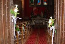 Décoration église / Décoration d'église ou de chapelle pour des mariages.