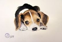 Animal art / Paintings on animals and other furry friends