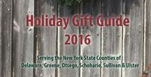 Bring the Catskills Home for the Holidays / Ideas on how to buy local and support businesses in the Catskills for the holiday season!